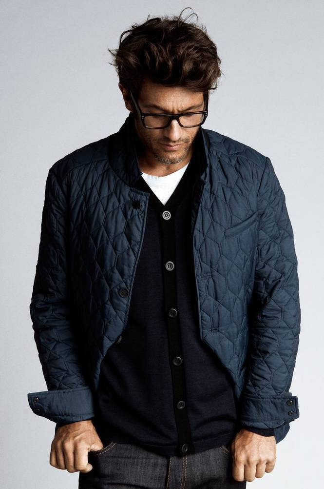 CLOSE by DENIM The Quiltet Jacket, slim fit