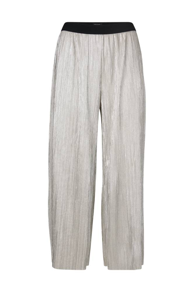 Soaked in Luxury Iris Metallic Culotte -housut