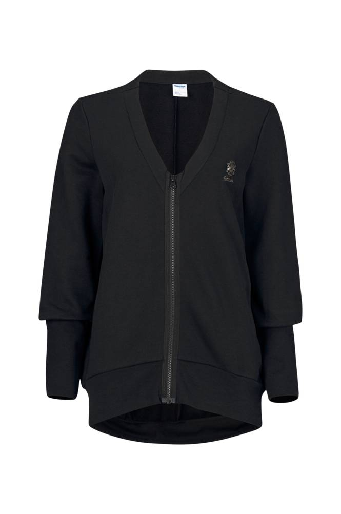 Reebok Performance EF FZ Long Cardigan -treenipusero