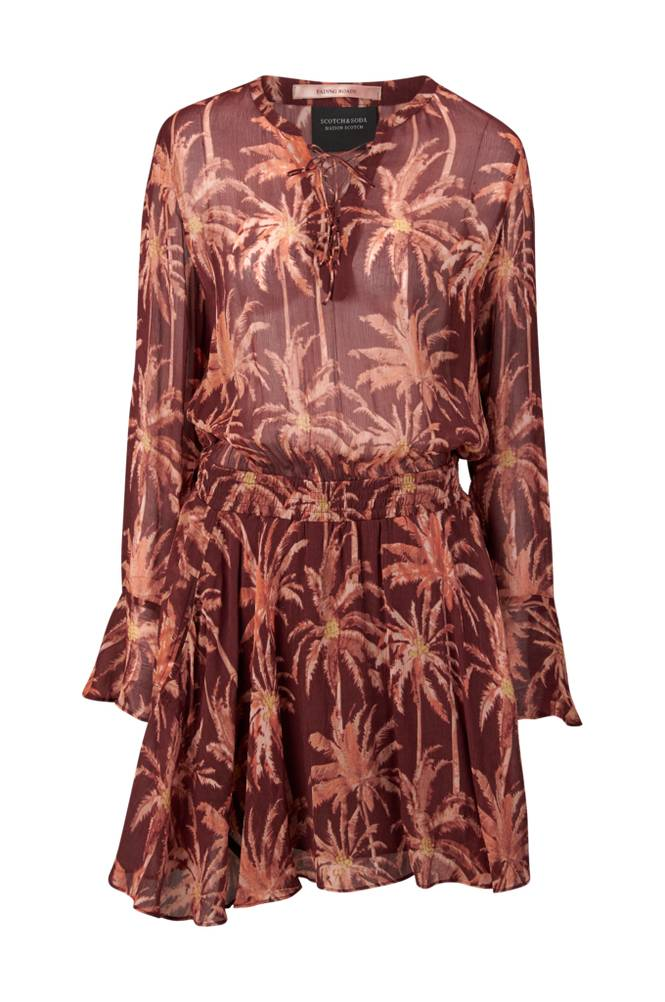 Scotch & Soda Viscose Printed Dress -mekko