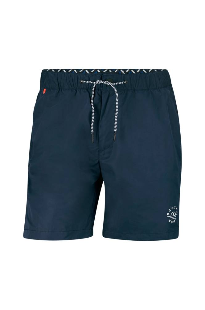 Scotch & Soda Mini-Motif Swim Shorts -uimashortsit