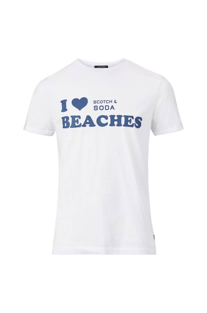 Scotch & Soda Sun Bleached -T-paita