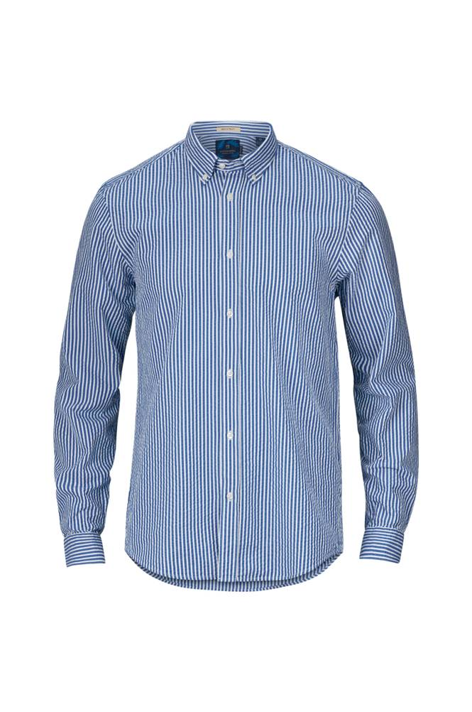 Scotch & Soda Seersucker Shirt -kauluspaita
