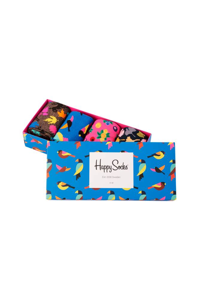 Happy Socks Lahjapakkaus Forest Gift Box, 4 paria