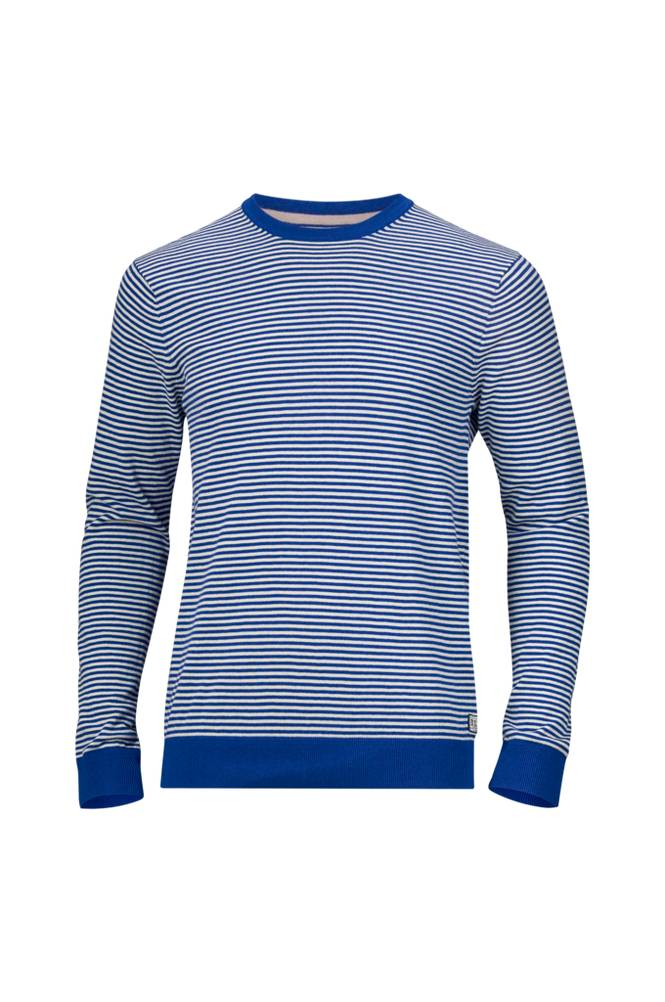 Scotch & Soda Knit Ams Blauw -neulepusero