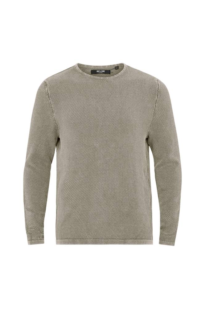ONLY & SONS OnsHugh Line Crew Knit Noos -neulepusero
