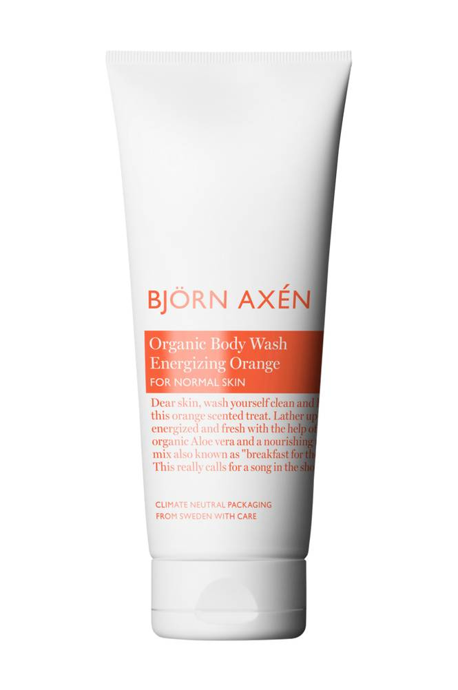 Björn Axén Organic Body Wash Energizing Orange -suihkugeeli, 250ml