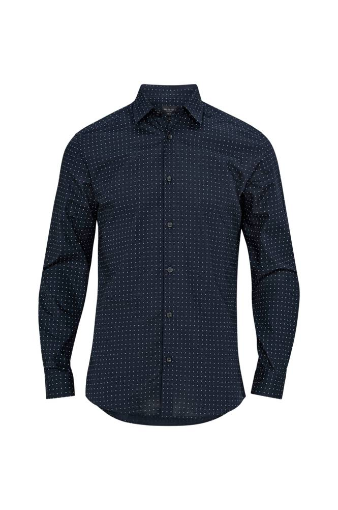 Selected Homme SlhSlimpen-Blink Shirt -kauluspaita, slim fit