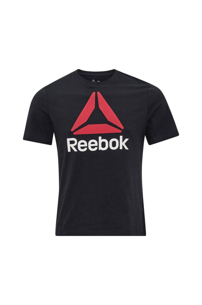 Reebok Performance QQR Reebok Stacked -T-paita