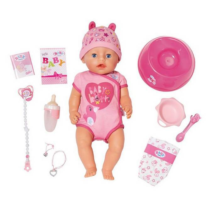 Baby Born Soft Touch Girl Blue Eyes -nukke