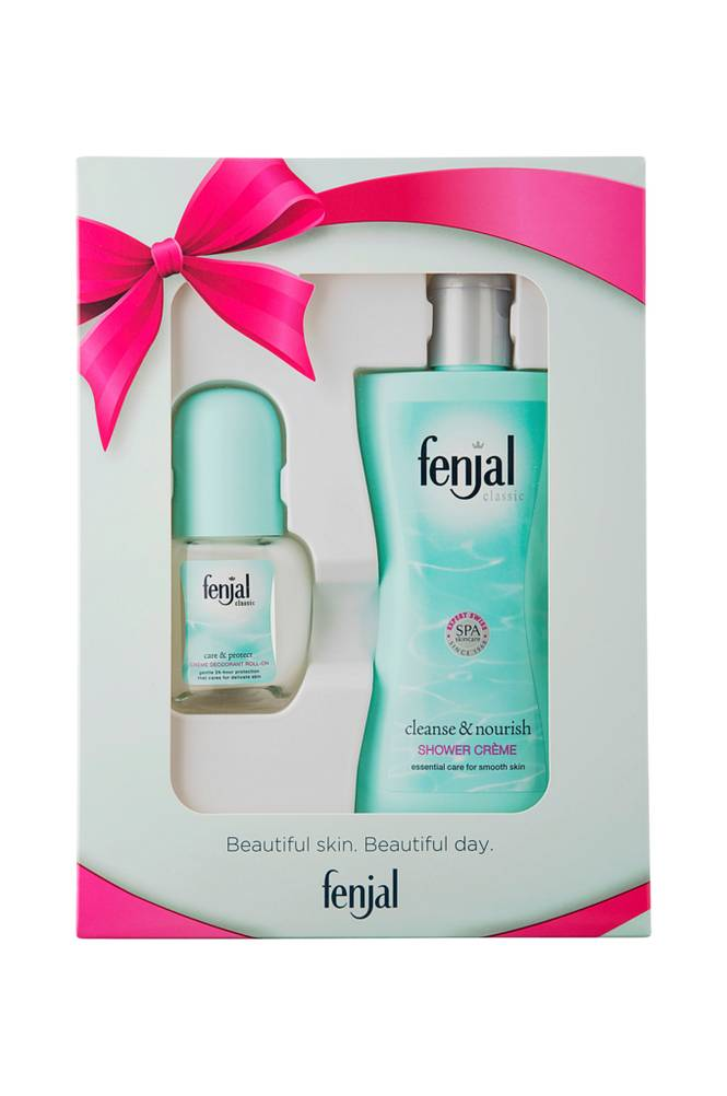 Fenjal Lahjapakkaus Classic Shower 200 ml Deo roll on 50 ml