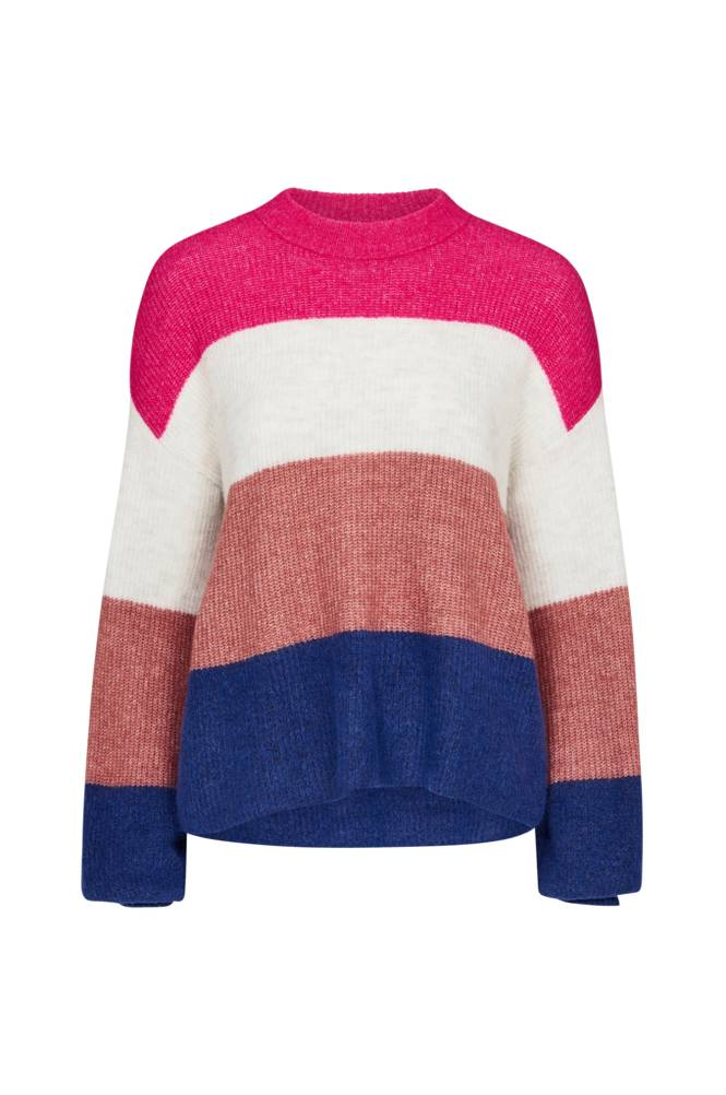 Y.A.S Clock Knit Pullover -neulepusero