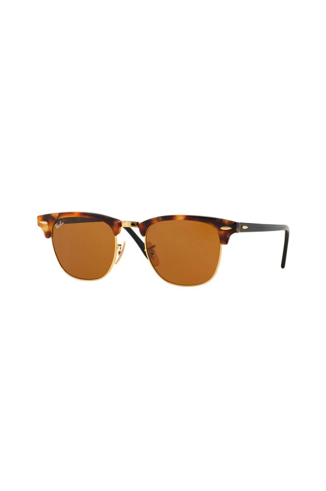 Ray Ban Clubmaster RB3016-1160 -aurinkolasit, Spotted Brown Havana