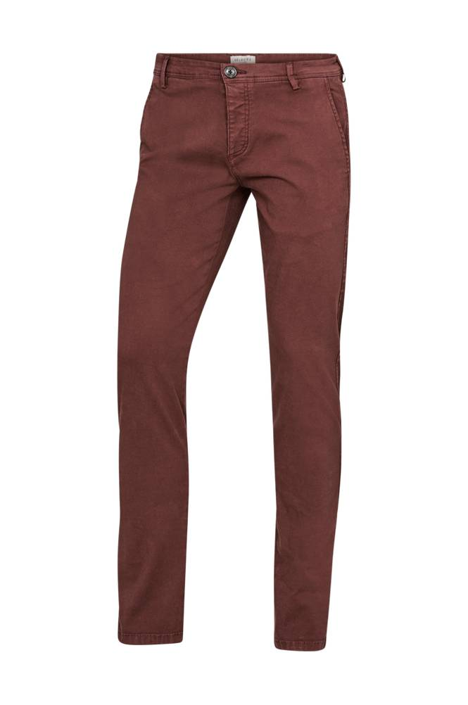 Image of Selected Homme SlhSkinny-Luca B. -chinot Chocolate Pants