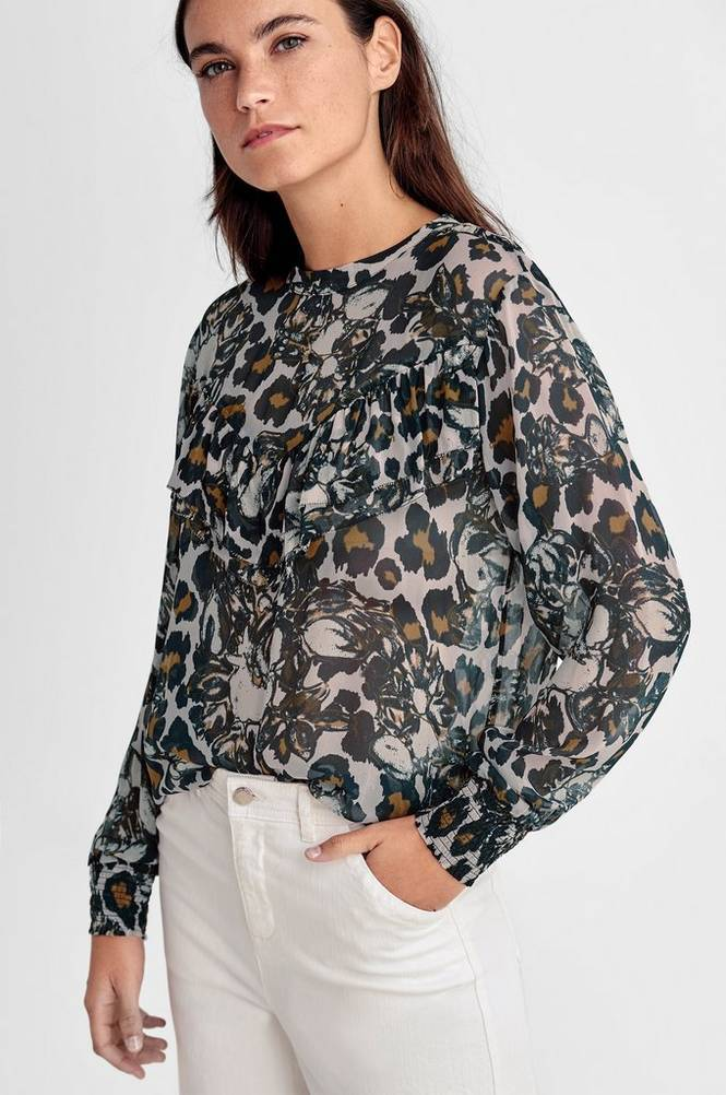 Second Female Florence Ruffle Blouse -pusero