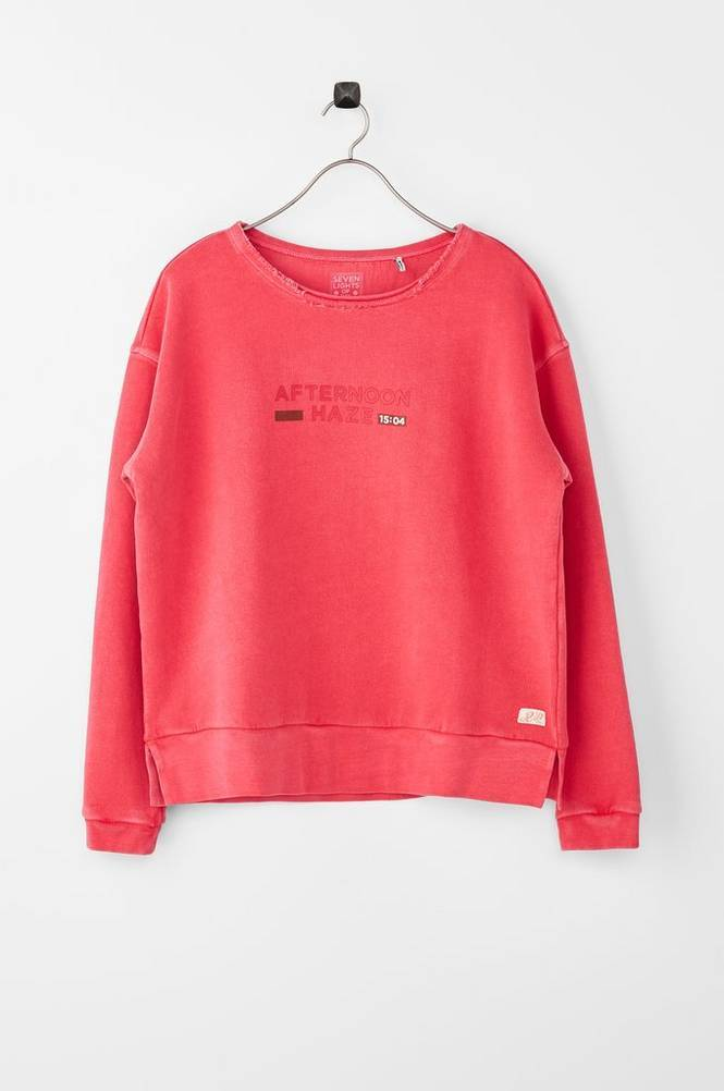 Scotch & R'belle Boxy Fit Crewneck -collegepusero