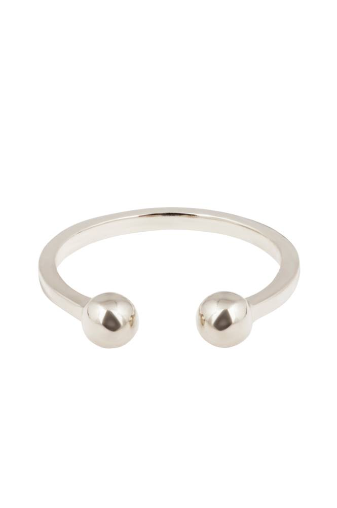 Syster P Strict Plain Ball Ring -sormus