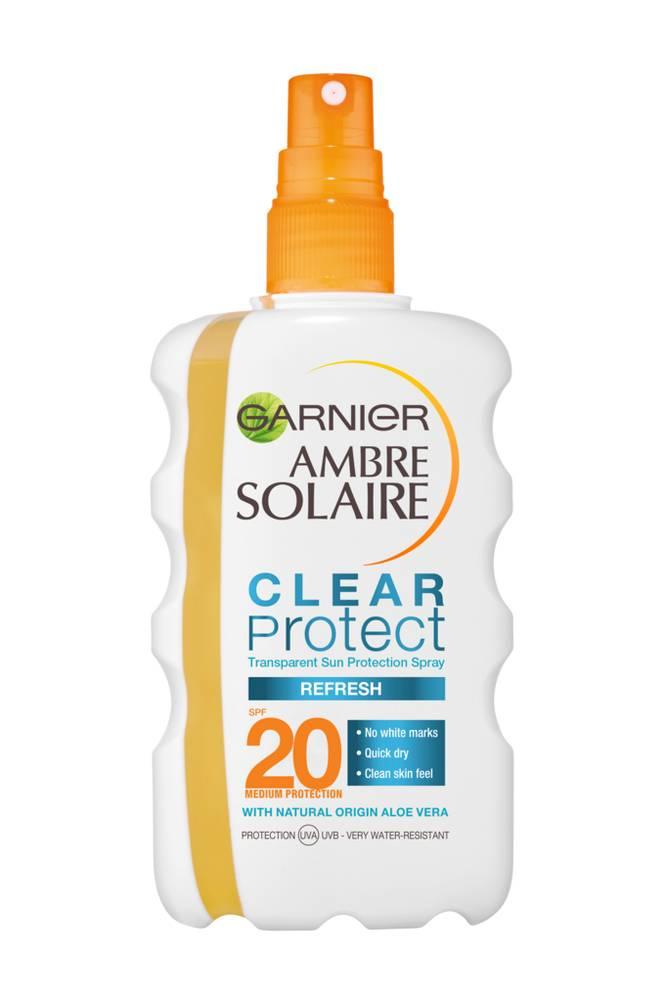 Garnier Ambre Solaire Clear Protect Spray SPF 20, 200 ml