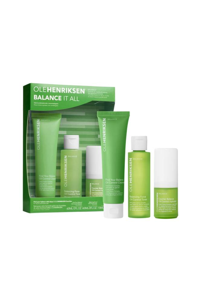 Ole Henriksen BALANCE IT ALL - OIL CONTROL AND PORE-REFINING SET 103 ML