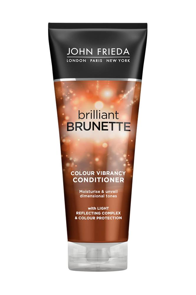 John Frieda Brilliant Brunette Color Protecting Moisturising Conditioner 250ml
