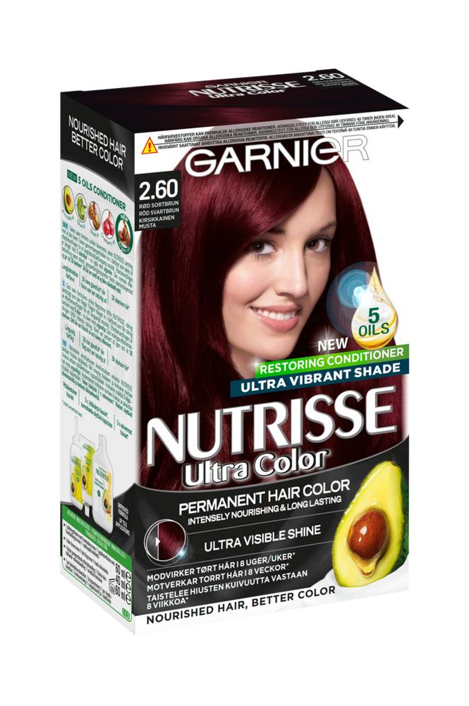 Garnier NUTRISSE ULTRA COLOR Deep Cherry Black 2.60
