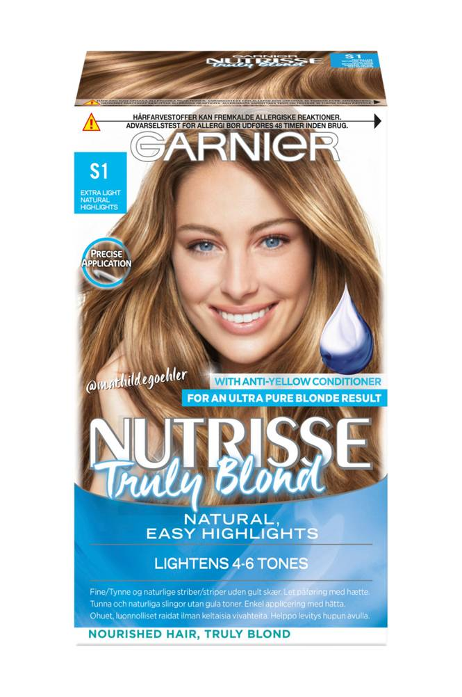 Garnier Nutrisse Blond Natural Highlights S1 -hiusväri