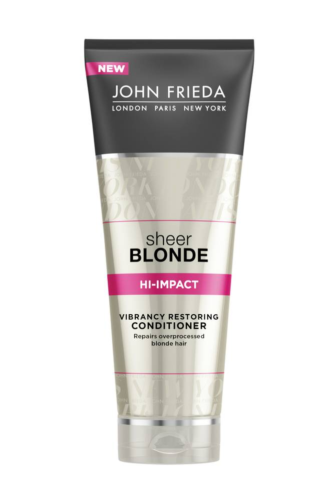 John Frieda Hi-Impact Restoring Conditioner 250ml Sheer Blonde