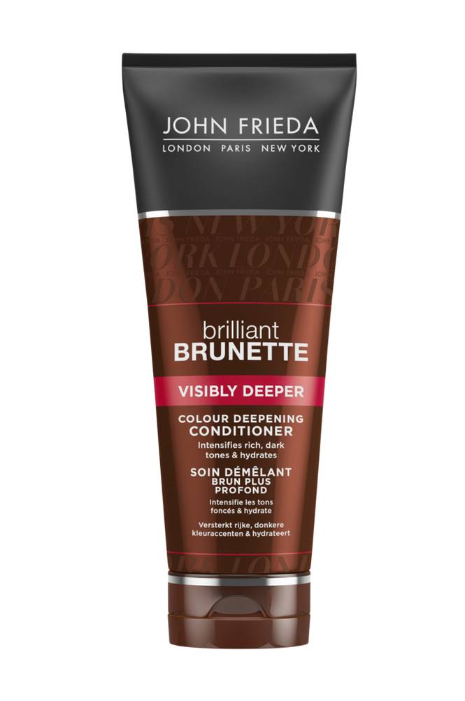 John Frieda Visibly Deeper Conditioner 250ml Brilliant Brunette