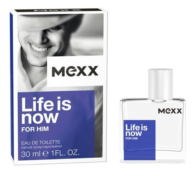 Mexx Life Is Now M Edt, 30 ml