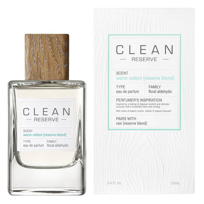 Clean Reserve Warm Cotton Reserv Blend 100 ml Edp
