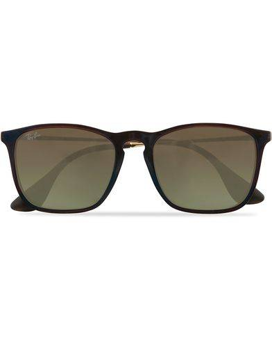 Ray Ban 0RB4187 Sunglasses Transparent Brown
