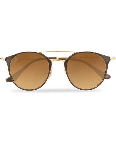 Ray Ban 0RB3546 Sunglasses Brown Gradient