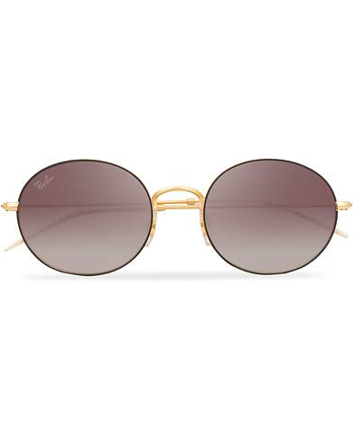 Ray Ban 0RB3594 Sunglasses Grey Mirror Red