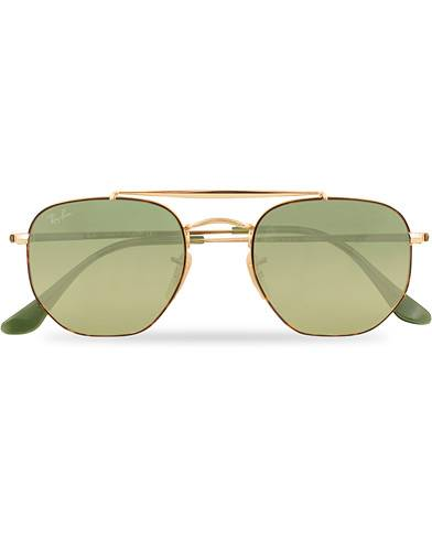 Ray Ban 0RB3648 Sunglasses Gradient Green