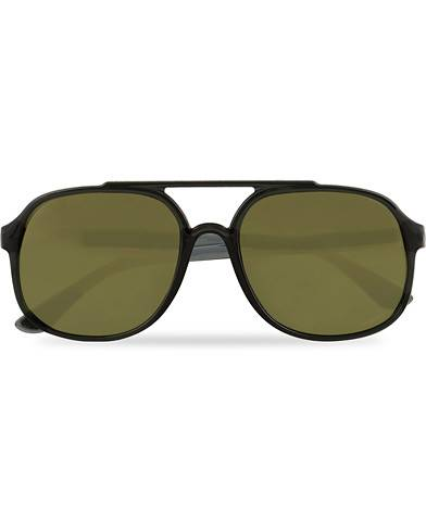 Ray Ban 0RB4312CH Sunglasses Black with Mirror Lenses