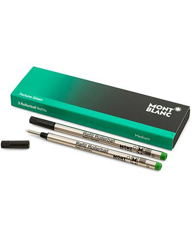 Montblanc 2 Rollerball Refills Fortune Green