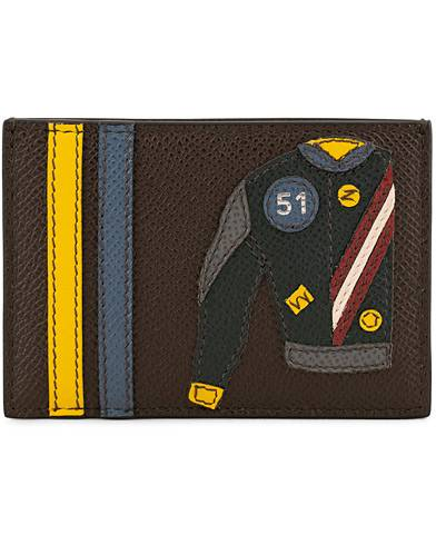 Bally Barts Leather Detail Cardholder Brown