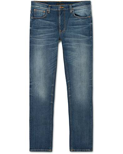 Nudie Jeans Lean Dean Organic Slim Fit Jeans Lost Legend
