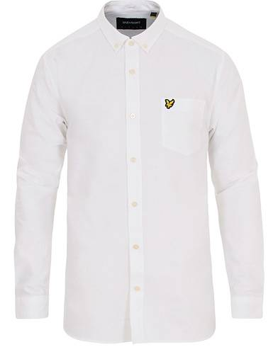 Lyle & Scott Oxford Shirt White