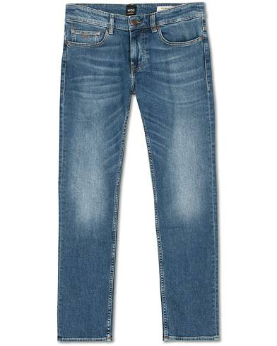 BOSS Casual Delaware Slim Fit Stretch Jeans Aqua Blue