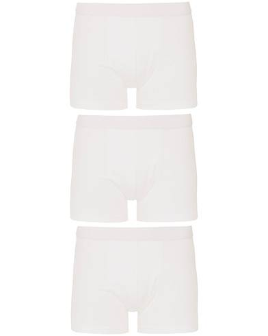 Bread & Boxers 3-Pack Boxer Brief White