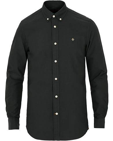 Morris Douglas Oxford Shirt Black
