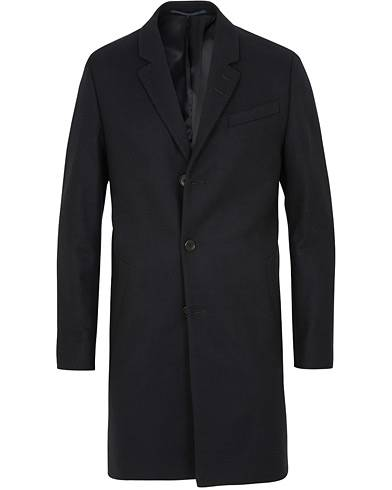 Tiger of Sweden Cempsey Wool/Cashmere Coat Navy
