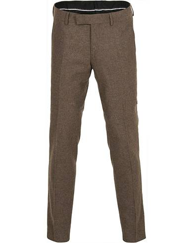 Tiger of Sweden Tordon Flannel Trousers Brown