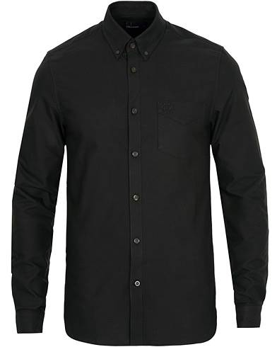Fred Perry Classic Oxford Shirt Black