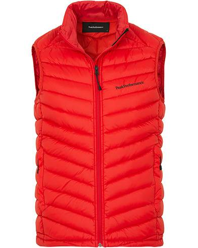 Peak Performance Frost Down Vest Red
