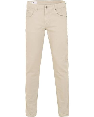 J.Lindeberg Jay Solid Stretch Trousers Stone Grey