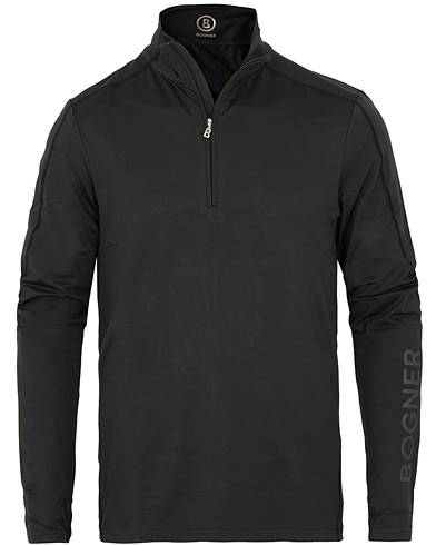 Bogner Harrison Tech Half Zip Sweater Black