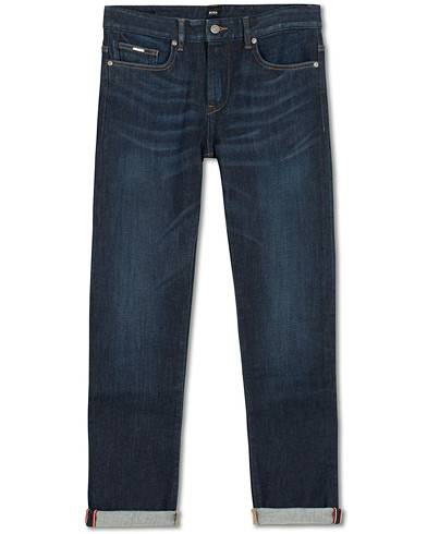 BOSS Delaware Candiani Stretch Jeans Dark Blue