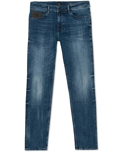 BOSS Casual Delaware Slim Fit Jeans Medium Blue